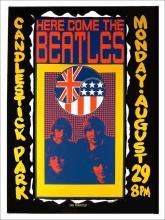 Beatles - Candlestick Park - Concert Poster