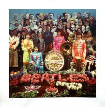 Beatles - Sgt. Pepper's Lonely Hearts Club Band - Alternative Album Art Print
