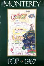 Beatles - Monterey Pop Festival - Poster