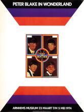 Beatles - Peter Blake in Wonderland - 1974 Museum Poster