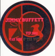 Jimmy Buffett - Far Side of the World Tour - 2002 Backstage Pass