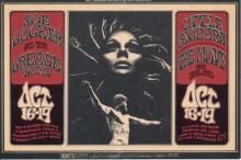 Joe Cocker - Little Richard - Fillmore - BG 196 - 1969 Concert Postcard/Handbill