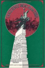 Country Joe & the Fish - Fillmore - BG 195 - 1969 Concert Handbill