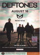 Deftones - Summer U.S. Tour - 2016 Concert Poster