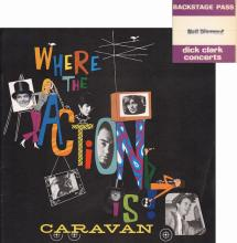 Neil Diamond - Caravan Tour - 1967 Program & Backstage Pass