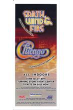 Earth, Wind & Fire - Chicago - 2009 Concert Handbill