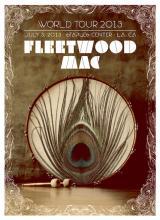 Fleetwood Mac - Fleetwood Mac Live - 2013 Concert Poster
