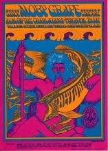 Moby Grape - Family Dog - FD 49 - 1967 Concert Postcard/Handbill