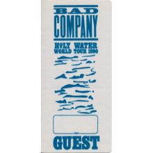 Bad Company  - 1990 Backstage Pass