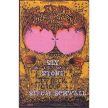 Big Brother and the Holding Company - 1968 Handbill