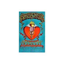 Big Brother and the Holding Company - Santana - 1968 Handbill
