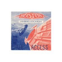 Boston - Third Stage Tour - 1987 Backstage Pass