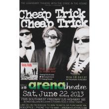 Cheap Trick  - 2013 Concert Handbill