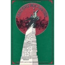 Country Joe & the Fish - 1969 Fillmore Concert Handbill
