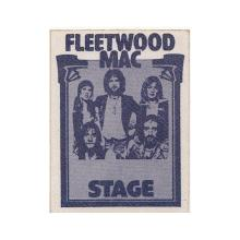 Fleetwood Mac - 1975 Tour - Backstage Pass