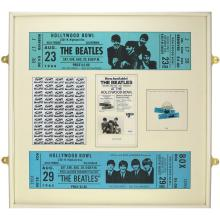 Beatles - Hollywood Bowl - Promotional Display