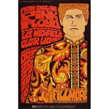 Pink Floyd - 1967 Fillmore Concert Poster