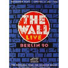 Pink Floyd - The Wall - Berlin - 1990 Concert Program