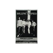 The Rolling Stones - 1969 Oakland Coliseum Concert Poster