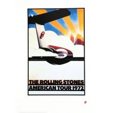 The Rolling Stones - American Tour - 1972 Concert Poster