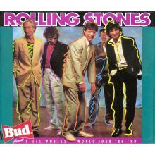 The Rolling Stones - Steel Wheels - Concert Poster