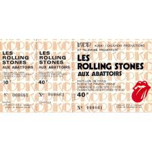 The Rolling Stones - Tour of Europe '76 - Vintage Concert Ticket