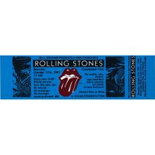 The Rolling Stones - American Tour - 1981 Vintage Concert Ticket
