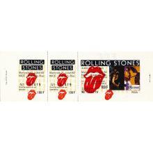 The Rolling Stones - European Tour - 1982 Vintage Concert Ticket