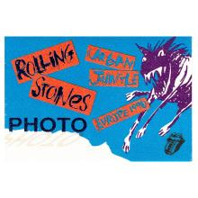 The Rolling Stones - Urban Jungle Tour - 1990 Backstage Pass