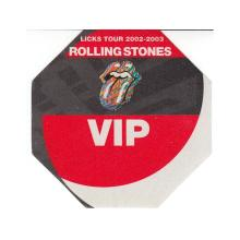 The Rolling Stones - Licks Tour - 2002 Backstage Pass