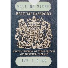 The Rolling Stones - 1983 Fan Club Replica Passports