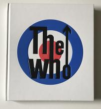 The Who Pete Townshend Signed Official History Book Photo Proof Certified