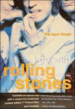 Rolling Stones poster - I Go Wild Single