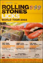 Rolling Stones poster - Licks World Tour