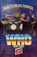 Original The Who 1982 Tour promo poster