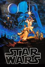 Star Wars poster - original promo poster for the first film