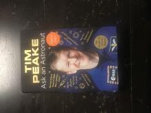 Tim Peake Signed Ask An Astronaut Hardback Book Certified