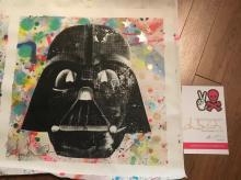 Shane Bowden Silk Screen Original Star Wars Darth Vader RRP £1000