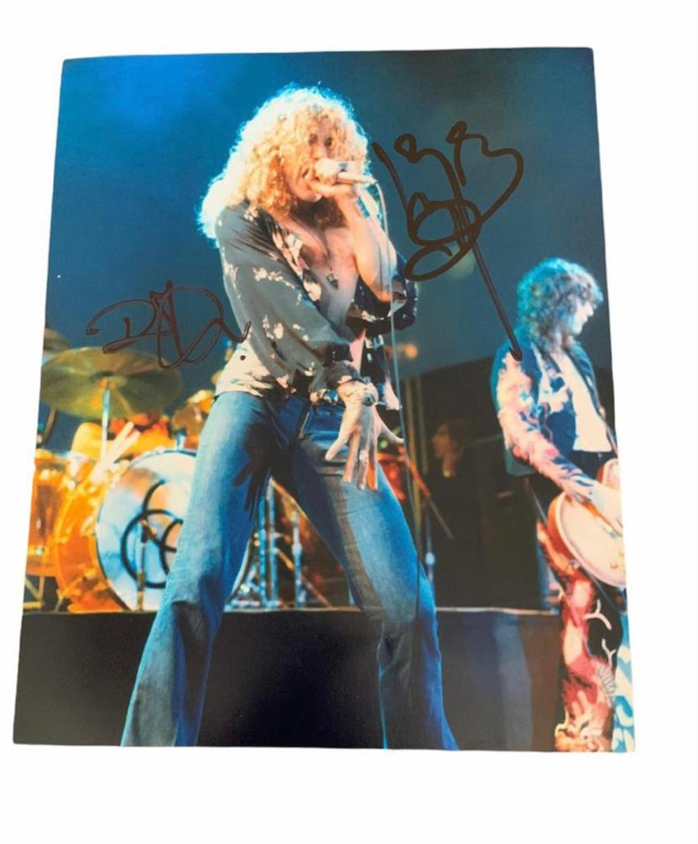 Led Zeppelin Signed Photograph Certified