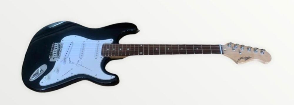 David Gilmour Pink Floyd Signed Electric Guitar Certified