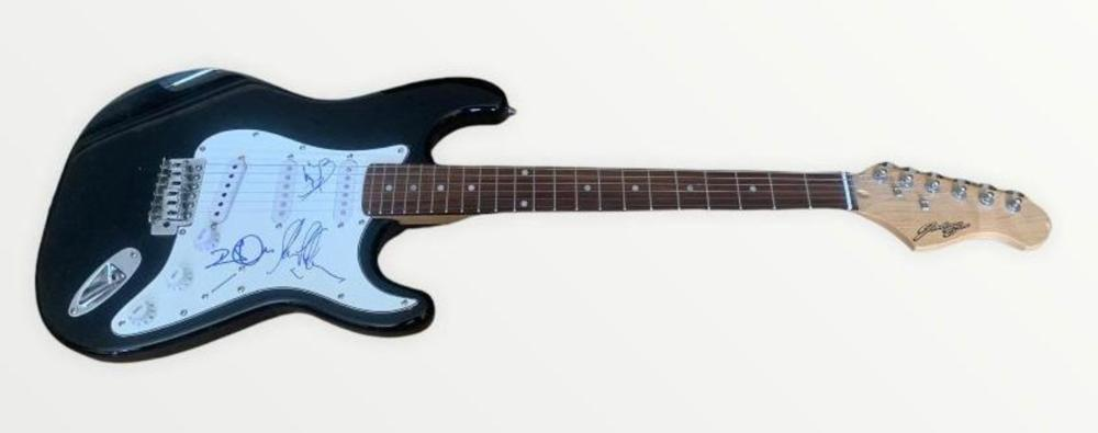 Led Zeppelin Fully Signed Electric Guitar Certified