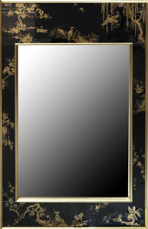 Japanese style mirror for Asian style mirror