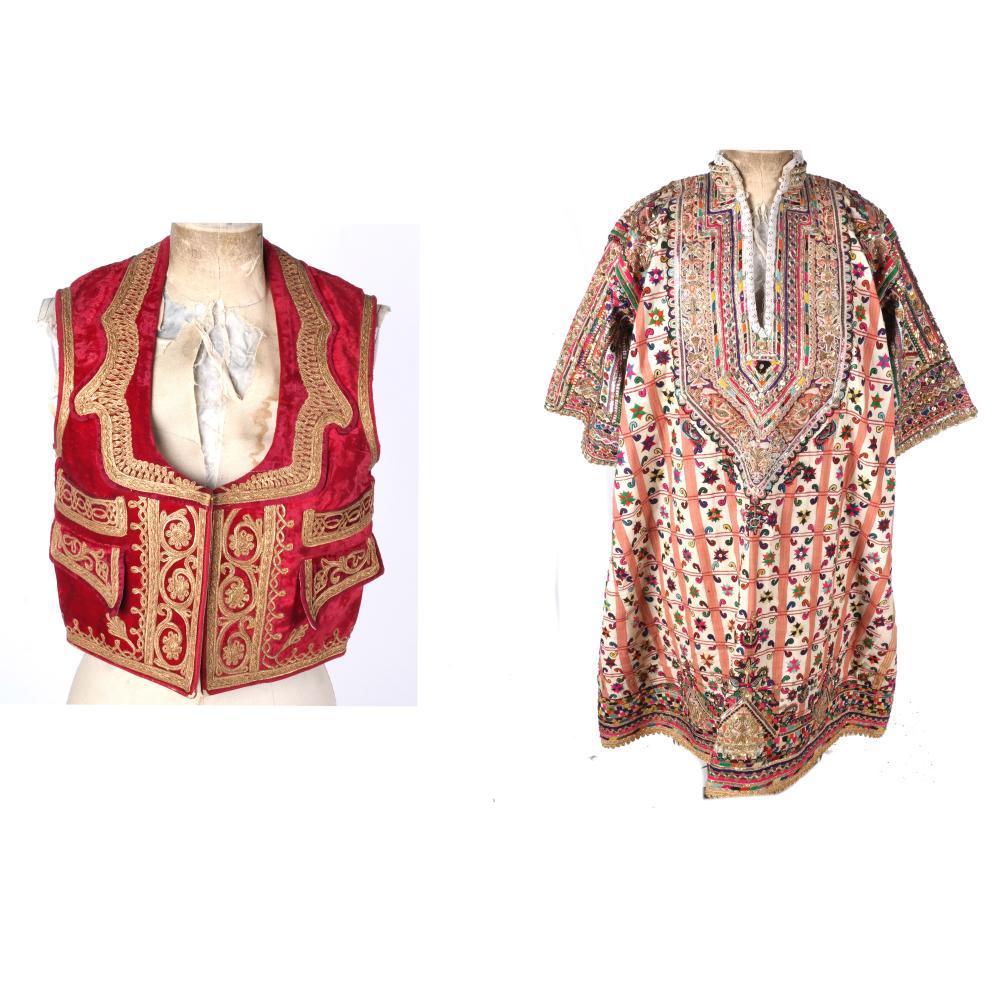 61a2312fe3 Pakistani Men's Vest and A Bridal Dress