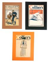 Edward PENFIELD: 3 Collier's Magazine Covers