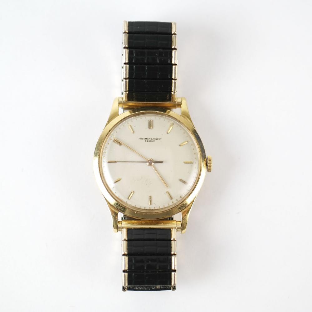 18K Gold Men's Audemars Piguet Wristwatch