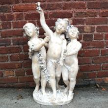 Ferdinando ANDREINI: Three Cherubs - Sculpture