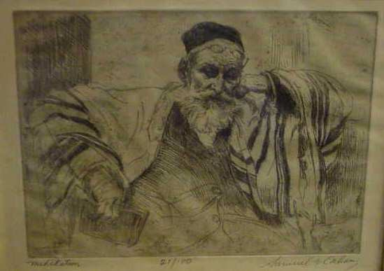 SAMUEL CAHAN (1886-1974, NY)