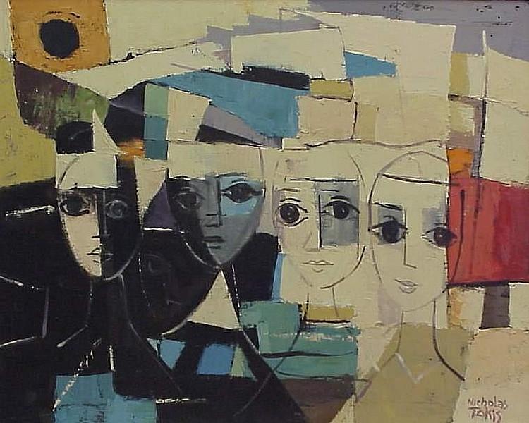 Nicholas Takis (1903-1965 New York, NY)