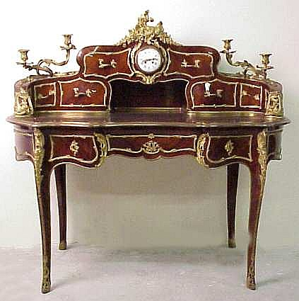 Linke 19thc French Louis XV style ormolu mounted