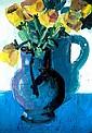 Brian Ballard, RUA - YELLOW TULIPS - Oil on Canvas